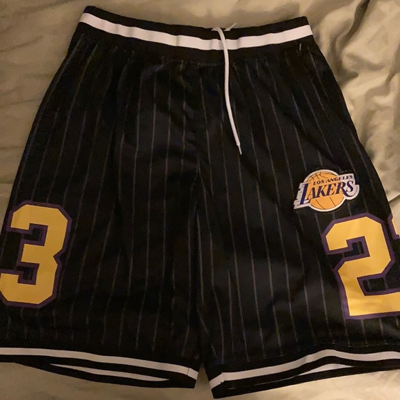 NBA brand new official shorts large size men's
